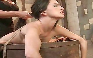 dominatrix dominates juvenile villein girl
