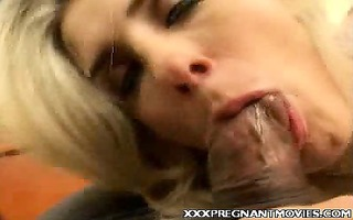 breasty pregnant cock plowed