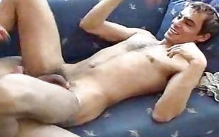 randy gay chap receives his gazoo drilled by lewd