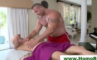 str guy acquires greater quantity than massage