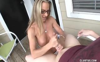 lewd mother id like to fuck lube handjob