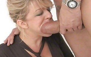 precious looking busty wife got double screwed