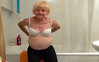 beautiful granny and nice angel masturbating