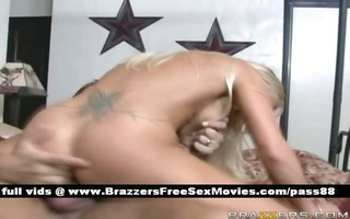 older s garb blond wife in couch acquires a