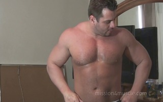 frank defeo curly large muscle god