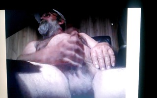 large daddy on webcam
