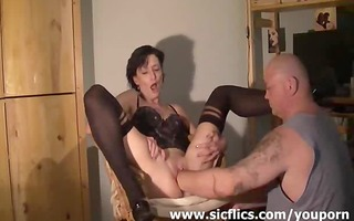 slim amateur wife fisted in her wrecked gap