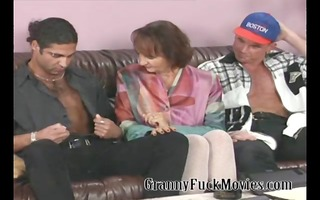 granny with firm milk cans fucking