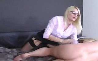 headmistress in stockings leg and foot fetish