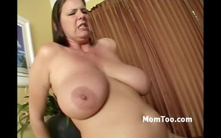 breasty mom and a-hole young daughter receive