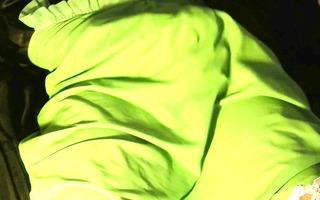 vintage green nylon slide spurt