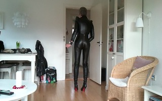 sissy beloved hot leather outfit 5