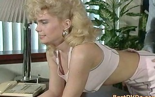 golden-haired cutie blowing cock and acquires