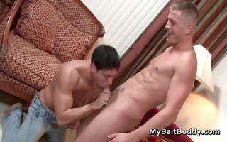 hawt homosexual boy fucking and engulfing part8