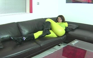 rubber boots and latex