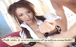 shiori tsukimi japanese hottie receives her hairy
