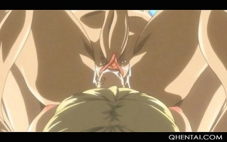 hentai sex ritual with blond gal with rod fucking