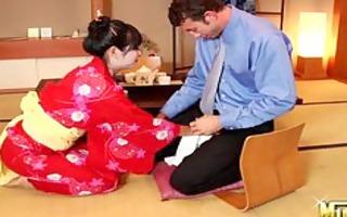 yuki mori as a geisha