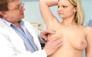 zaneta has her pussy gyno speculum examined by