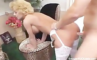 cougar in nylons t live without it is hard