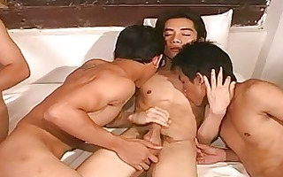 sexually excited oriental homosexuals having