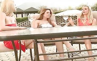 hot lesbian babes peachesvega and ally getting
