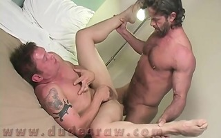 final ve discover two rock hard studs making out