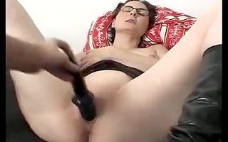 annette darksome fake penis orgasmic strokes
