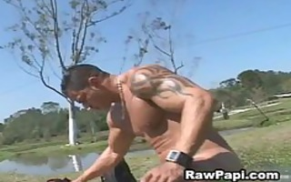 fellow with large muscle fucks hard papi rectal