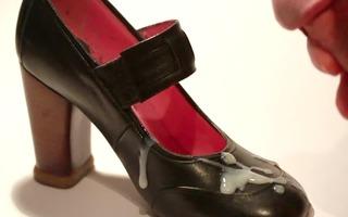 cum on shoe - artsy