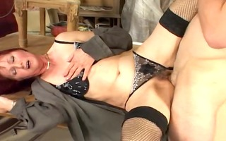 d like to fuck in fishnets and boots bonks