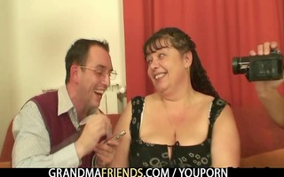 lads interview then fuck plump mommy