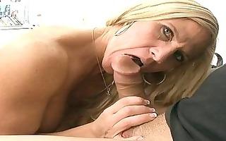 breathtaking older playgirl gives wonderful cock