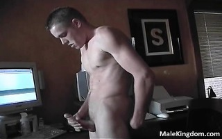 wicked lad is making computer sex part4