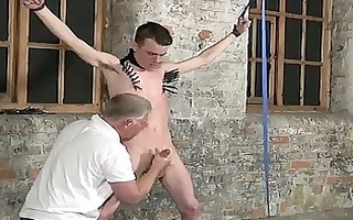 homo xxx sean mckenzie is fastened up and at the