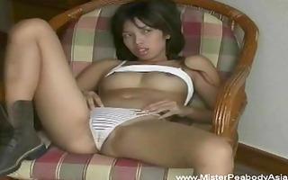 hot oriental drilled self on sofa