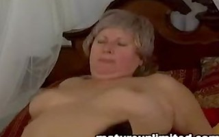 yes yeah granny receives fuck