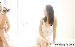 netvideogirls - victoria casting daybed ambush