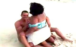big beautiful woman threesomes on the beach