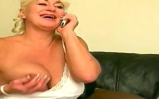daring granny engulf her boyfriend
