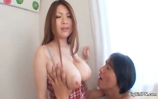 breasty asian whore goes avid getting her part8