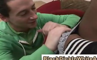interracial dong loving white boy sucks large