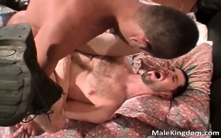 wicked beard homosexual is rectal hole licked
