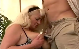 sexy big tit mature dana receives a porking