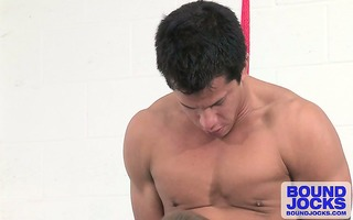 johnny gobbles up a.j.s jock in advance of