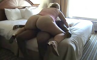 big beautiful woman older rides a wang on the