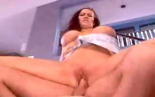 older mama drilled in her arse by younger
