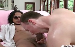 rasta with biggest wang ripping threesome a-hole