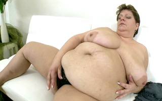 greater quantity of her large stomach