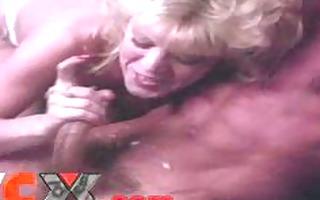 jizz flow and facial montage classic porn